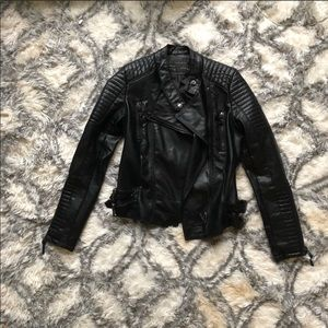 Leather Motto (Biker) Jacket 🖤